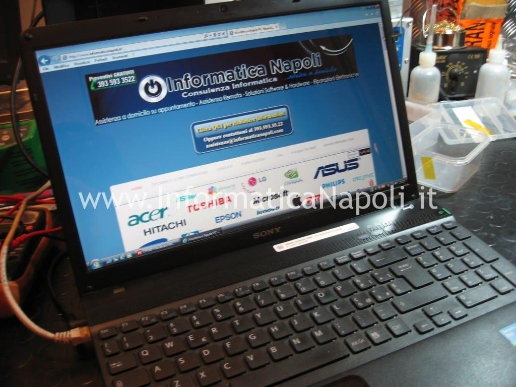 Sony VPCEB3L1E 71211M riparazione assistenza
