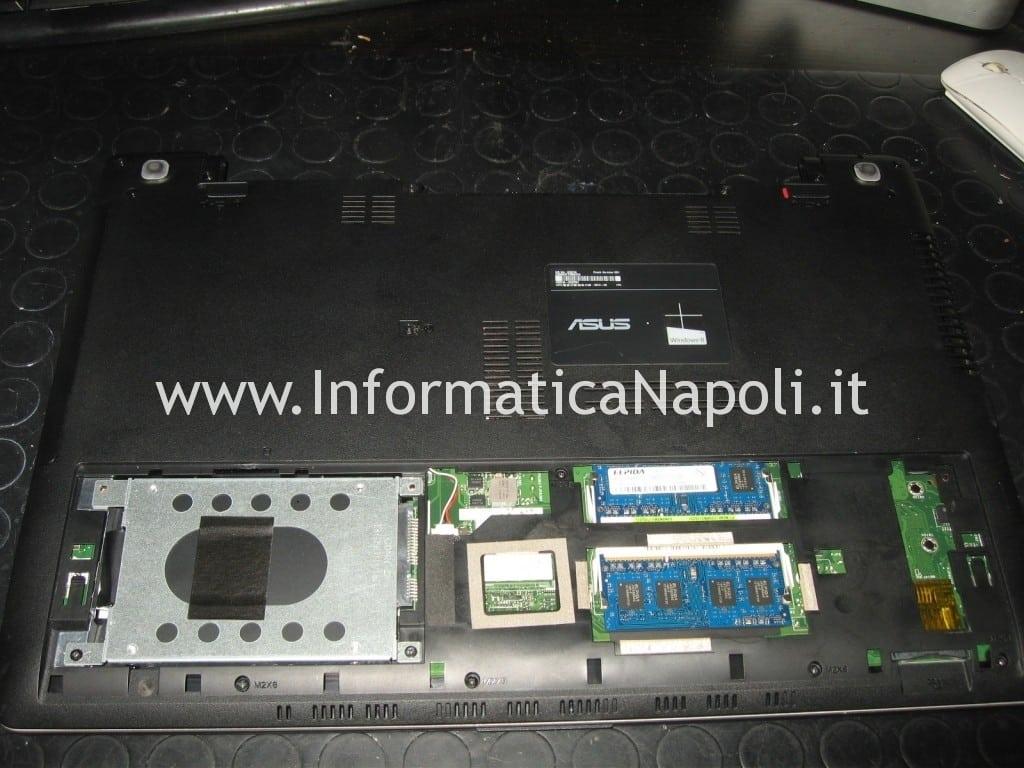 problema ASUS K56 K56CB K56CA K56CM schermo nero