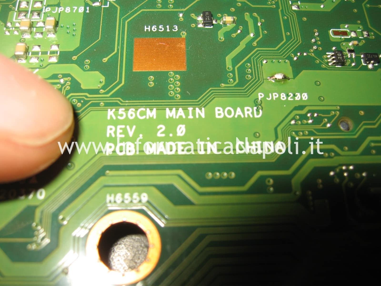 probleba Winbond W25Q64 bios Asus K56CM non si accende