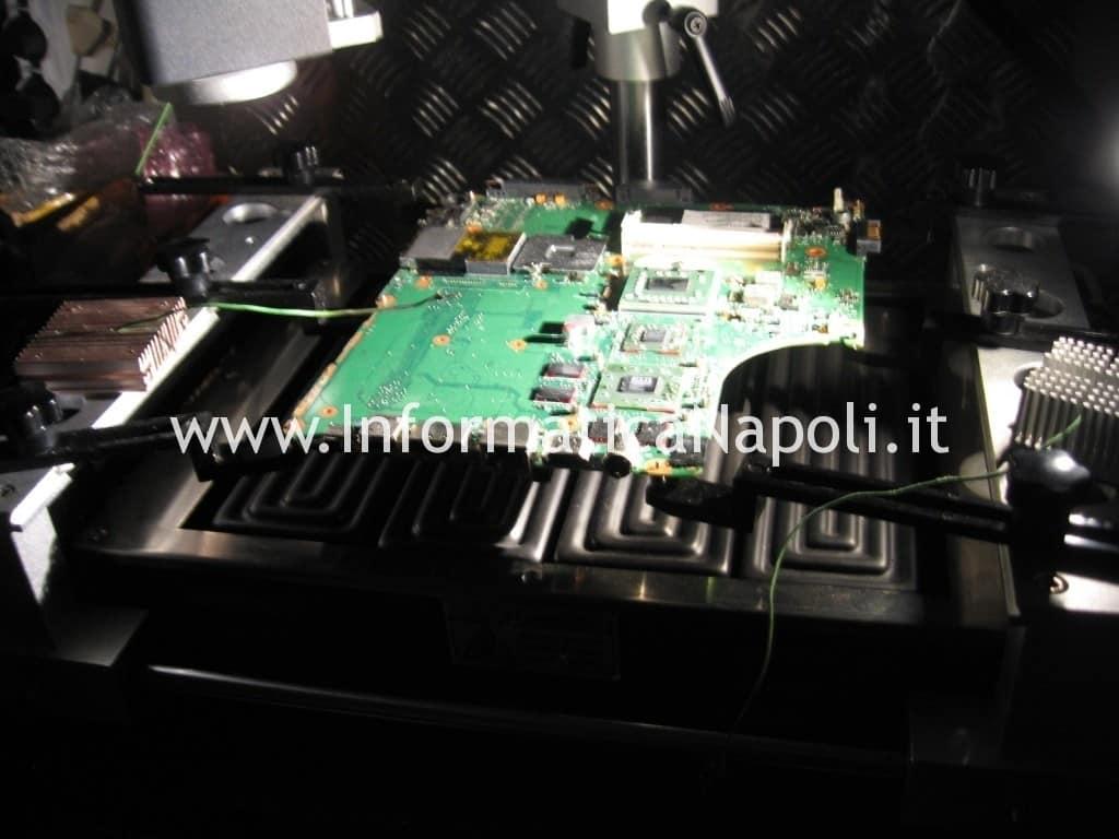 reballing Toshiba Satellite A300D PSAHCE