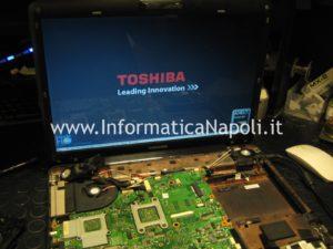 Toshiba Satellite A300D PSAHCE riparato funzionante