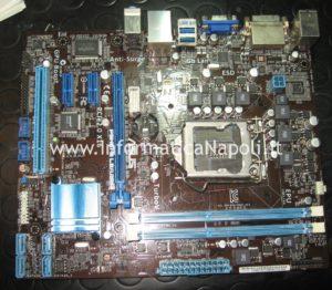 come riparare scheda madre Asus P8H61