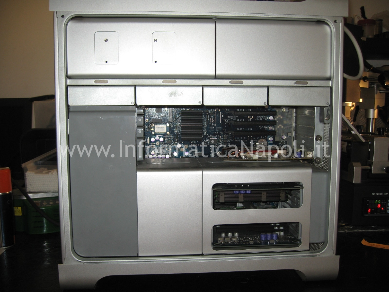 come riparare Apple Mac Pro A1186 EMC 2180 macpro