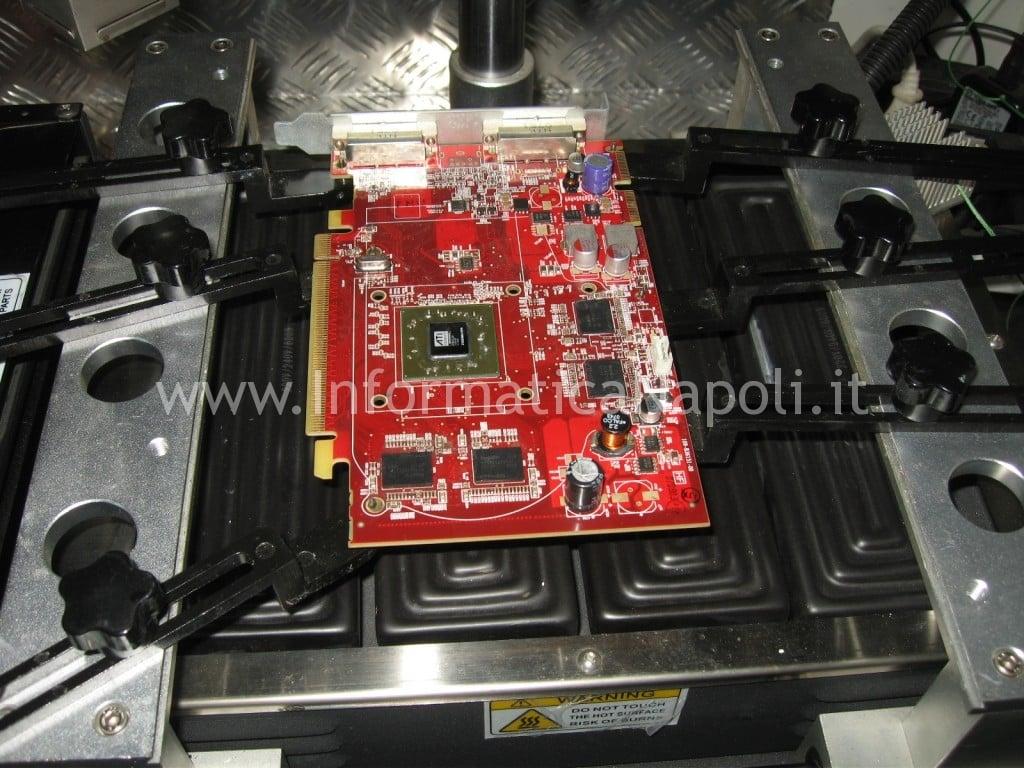 reballing reflow BGA ATI Radeon HD 2600 XT RV630 Apple Mac Pro macpro