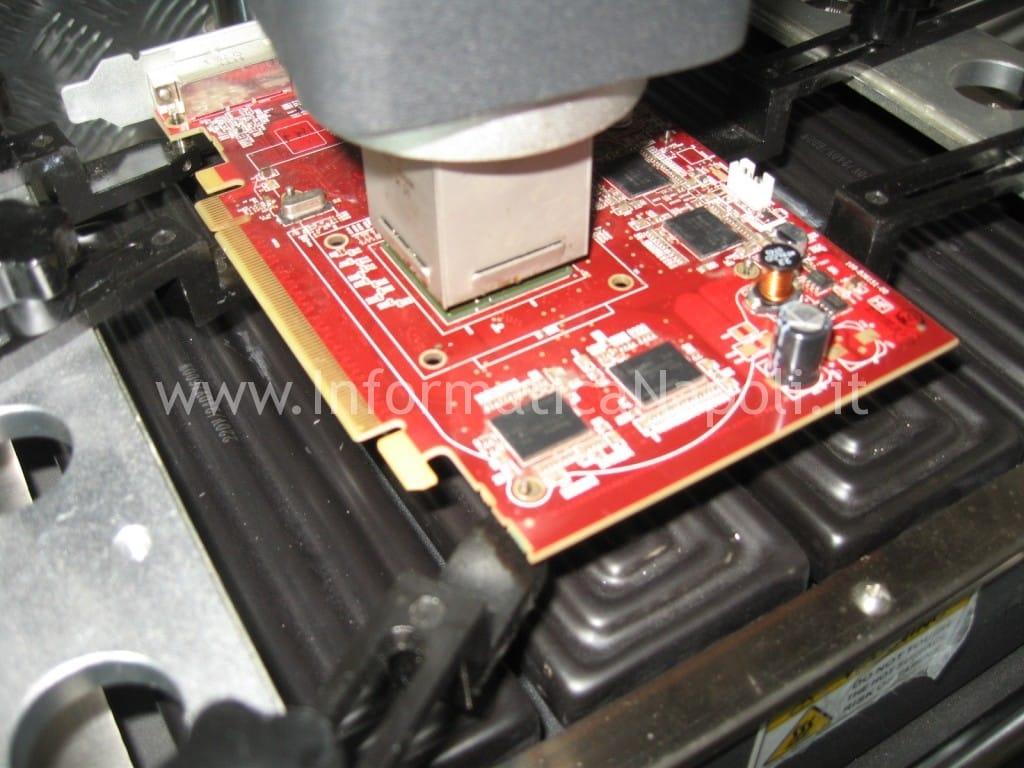 sostituzione chip video BGA A1186 EMC 2113