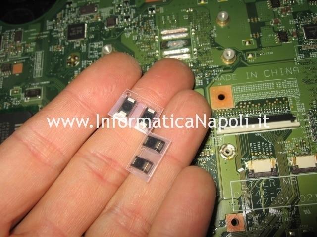 riparazione condensatori nec tokin nec/tokin 0E907 acer Aspire 5930 5925 5730 MS2233