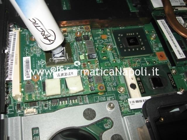 reballing reflow scheda video acer Aspire 5930 5925 5730 MS2233
