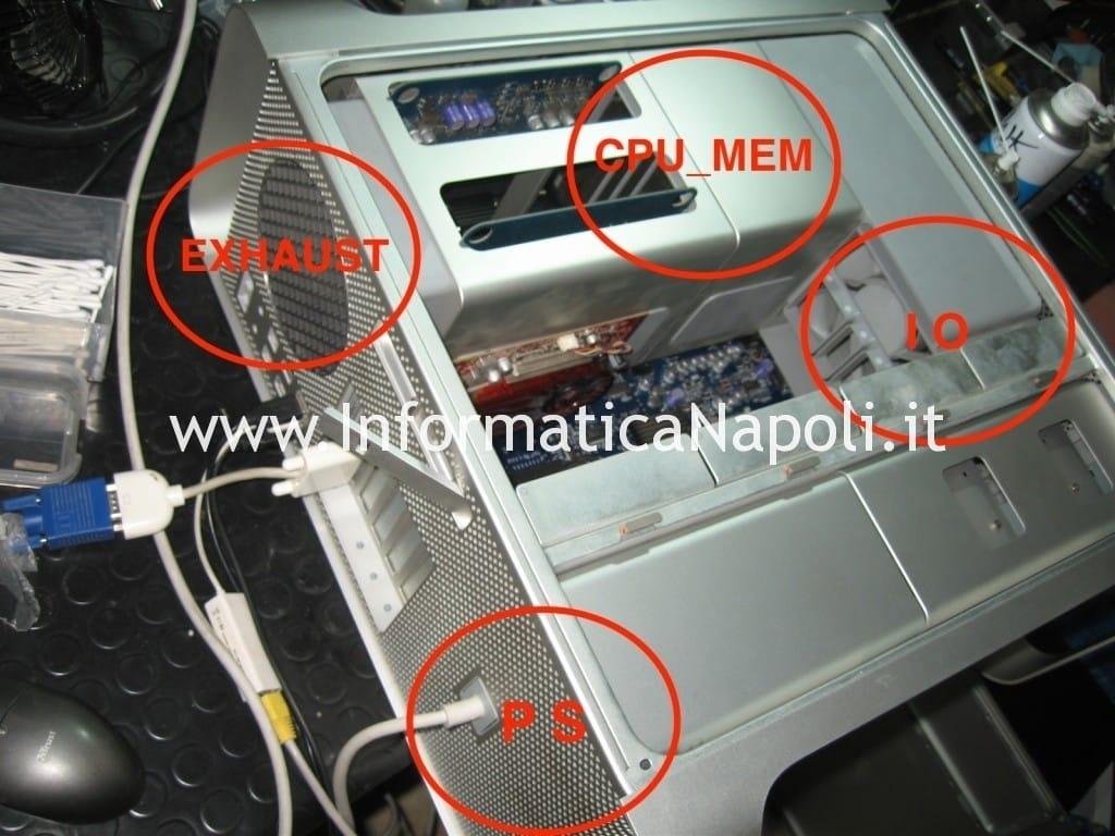 ventole dissipatori MacPro A1186 EMC 2180