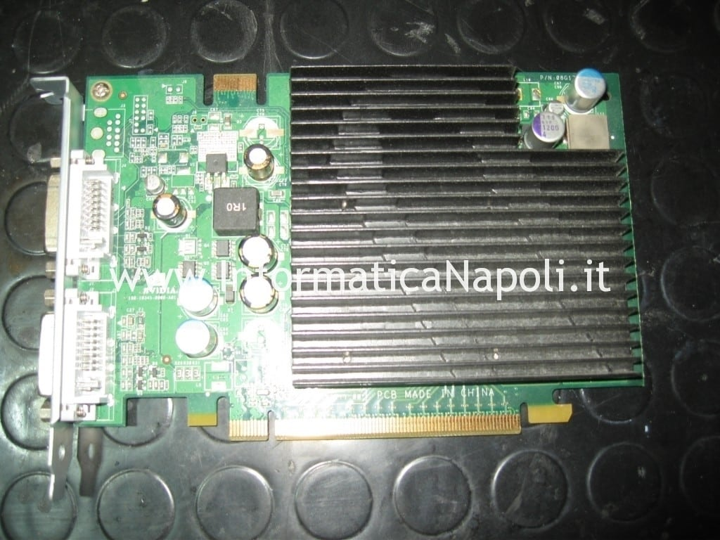 reballing NVIDIA GeForce 7300 GT 256MB