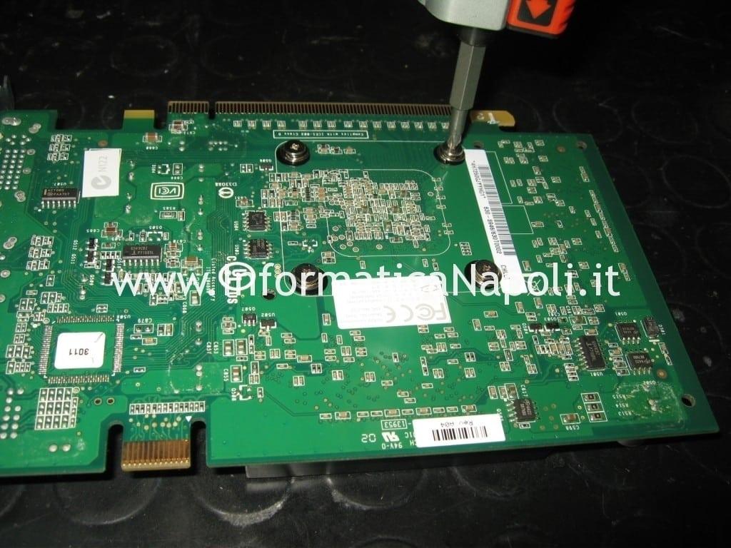 reballing reflow NVIDIA GeForce 7300 GT 256MB MacPro A1186 EMC 2113
