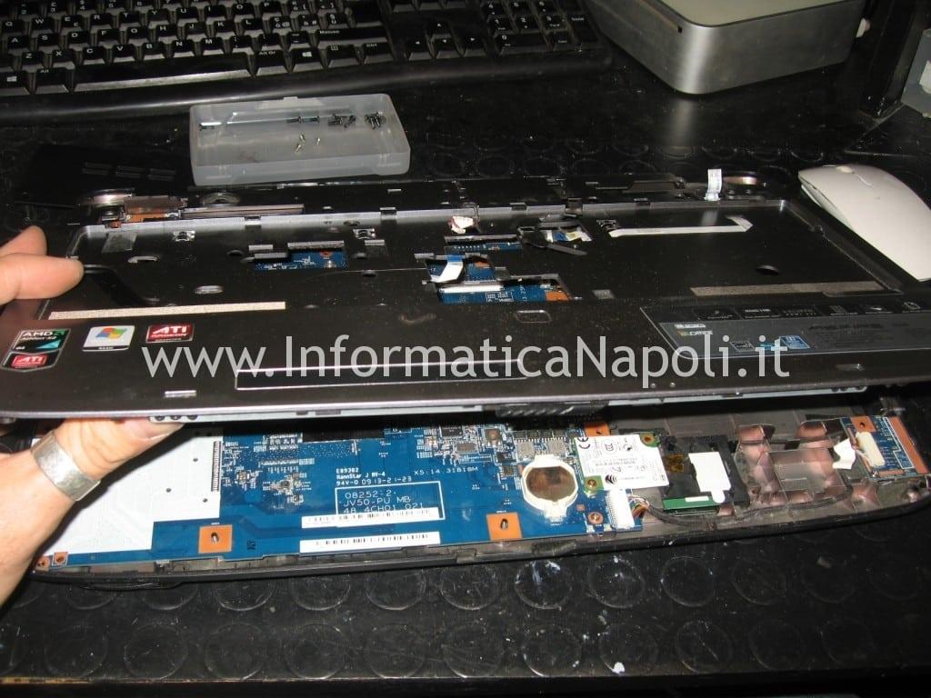 riparazione scheda madre Acer Aspire 5536 5236 MS2265