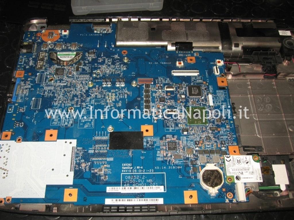 riparazione scheda madre mainboard Acer Aspire 5536 5236 MS2265