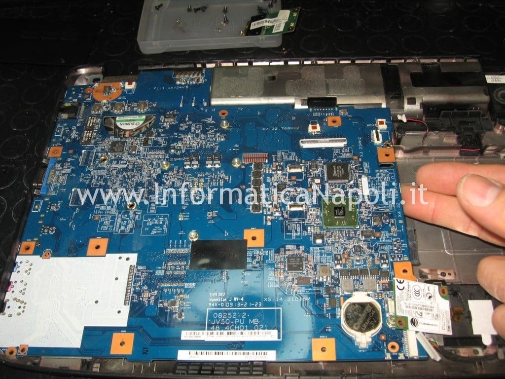 rework reballing GPU mainboard Acer Aspire 5536 5236 MS2265