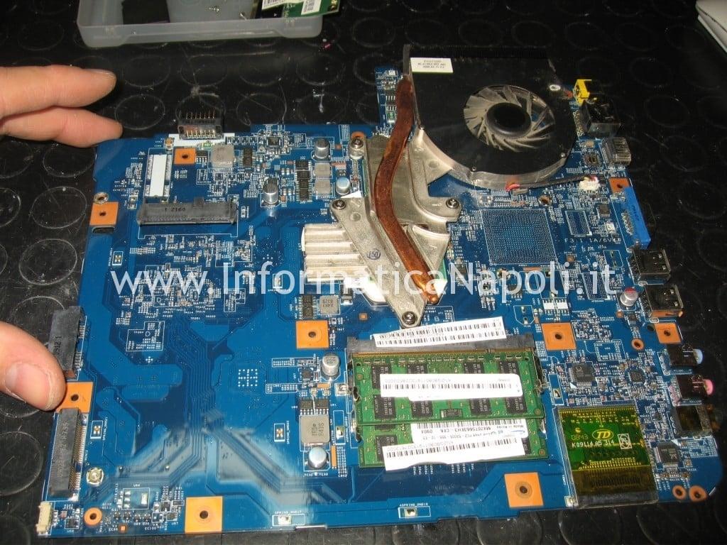 rework reballing reflow GPU mainboard Acer Aspire 5536 5236 MS2265