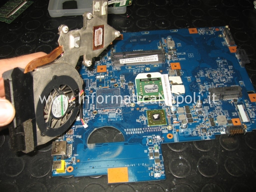scheda madre chip video fan Acer Aspire 5536 5236 MS2265