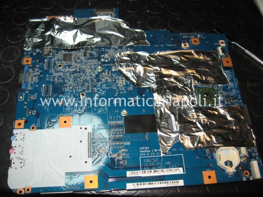preparazione scheda madre main board Acer Aspire 5536 5236 MS2265