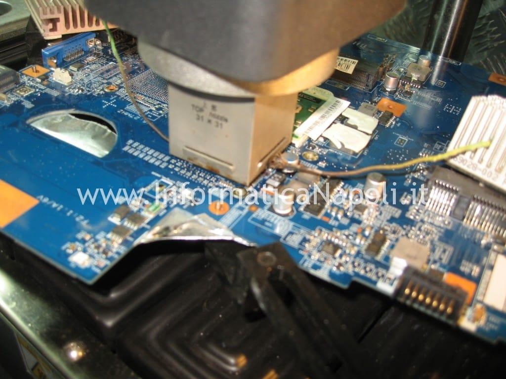 Rework reballing GPU ATI nVidia Apple iMac 17 2006