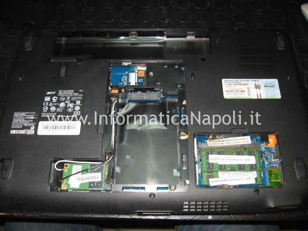come riparare Acer aspire 5536 5236 MS2265