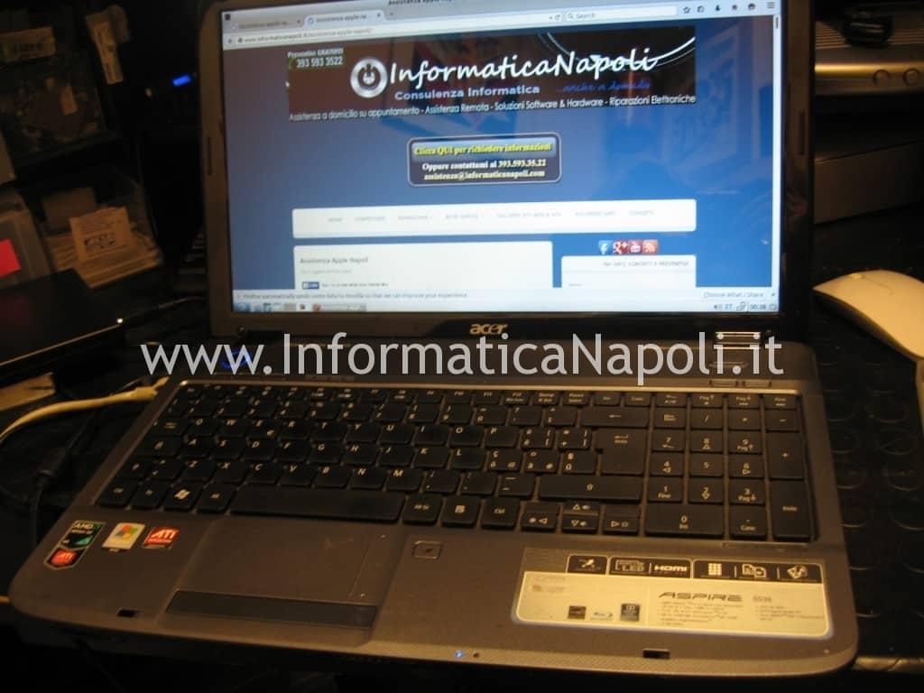 assistenza Acer Aspire 5536 5236 MS2265 napoli