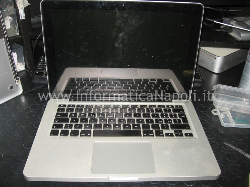 schermo buio Apple MacBook A1278