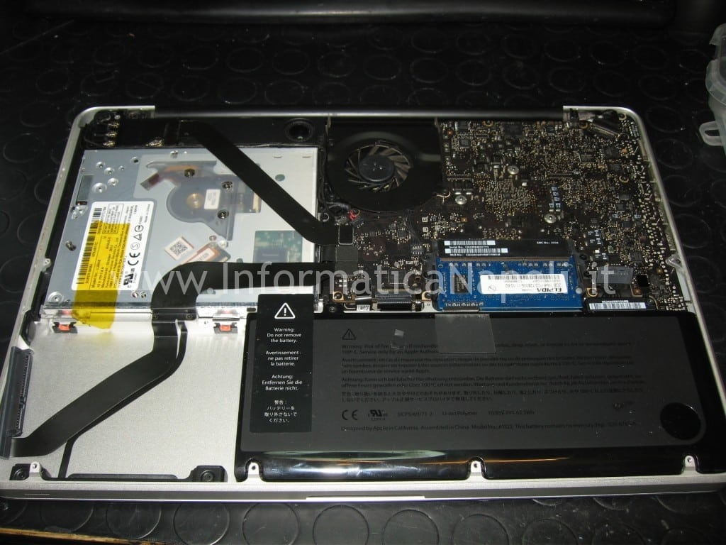 problema tastiera Apple MacBook A1278