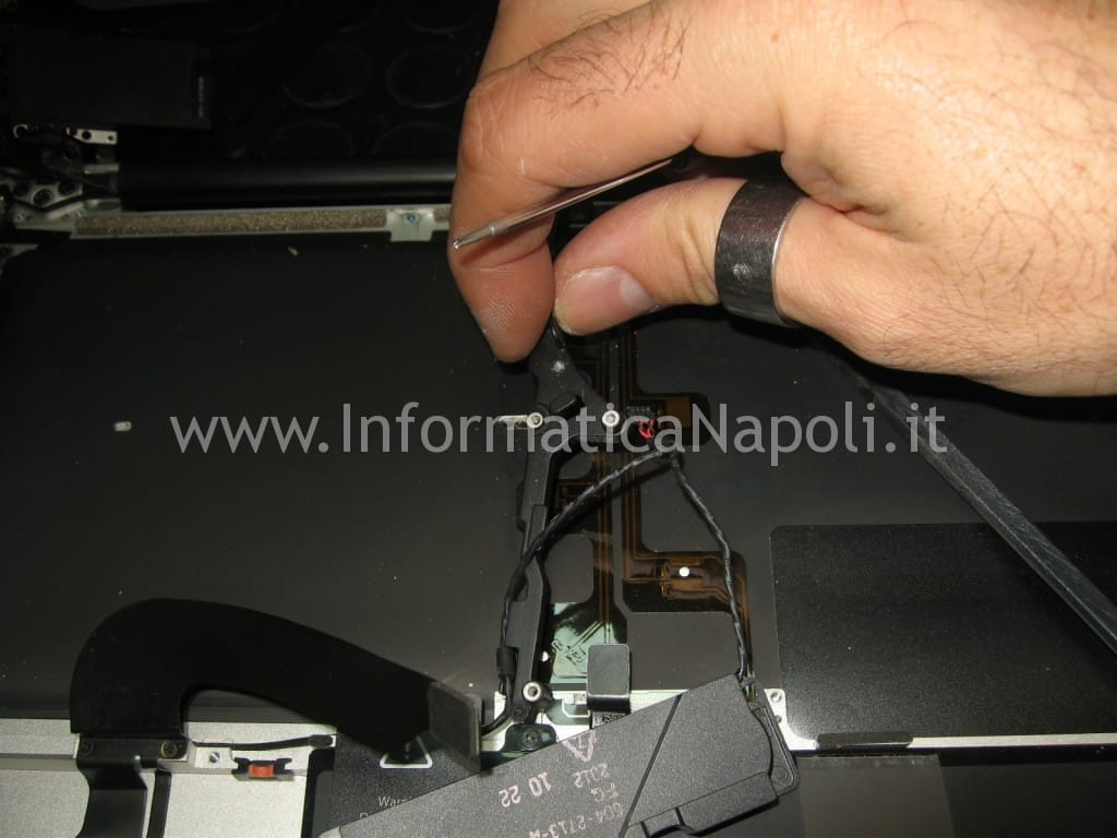 problemi tastiera apple macbook A1278