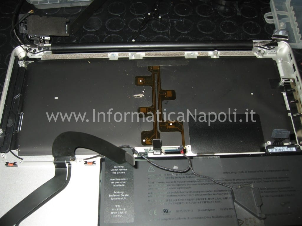 come riparare tastiera apple macbook A1278