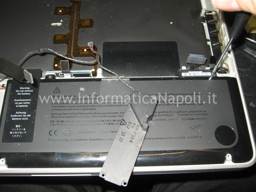 riparazione tastiera apple macbook A1278