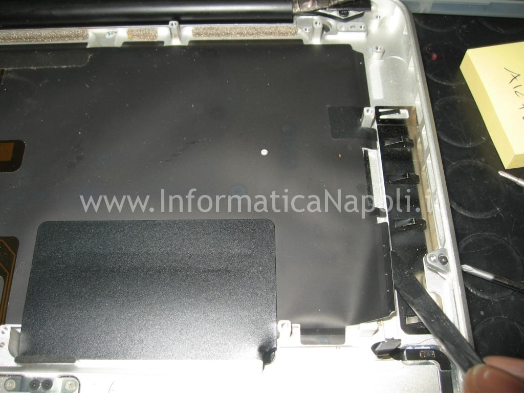tasti non funzionanti tastiera apple macbook A1278