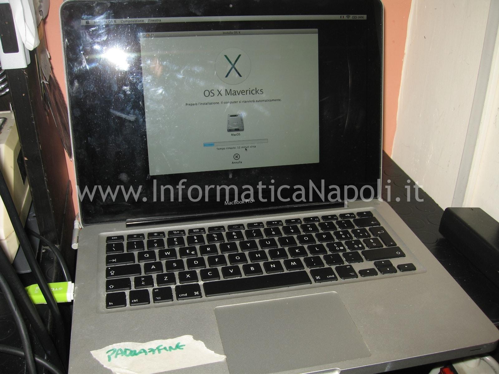 apple macbook 13 riparato funzionante