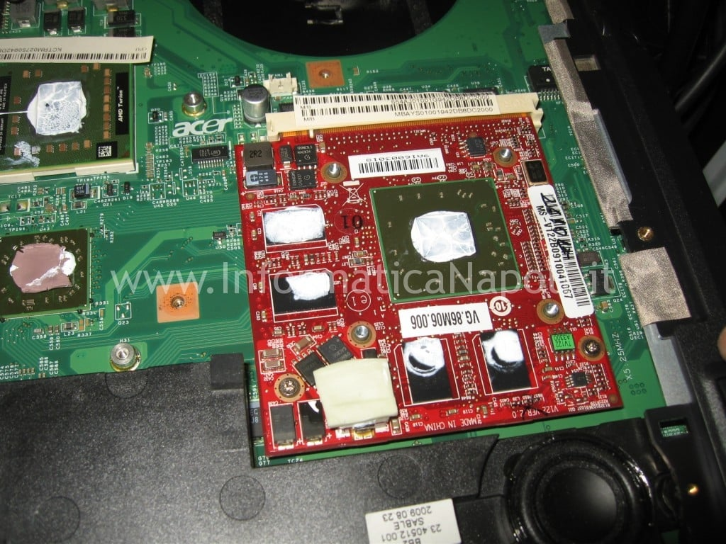 scheda video Acer 8530 8530g MS2249