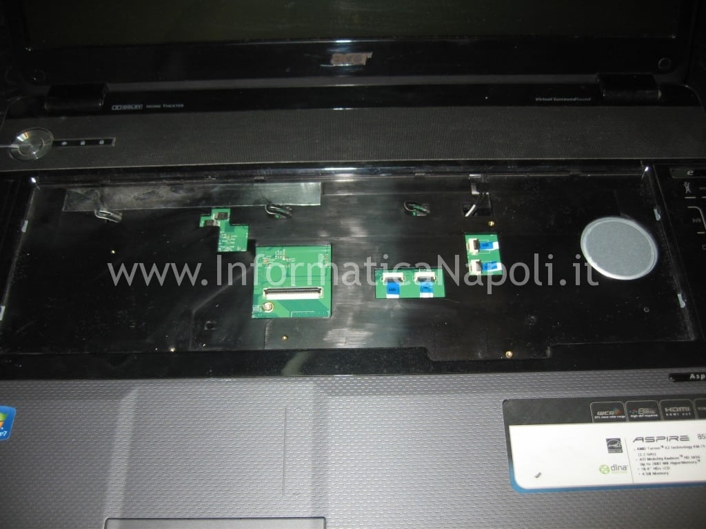 riparazione Acer 8530 8530g MS2249