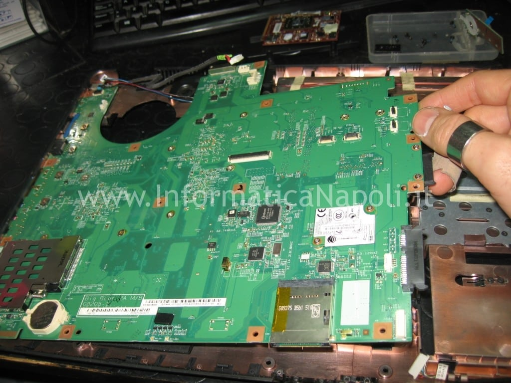 rework reballing Acer aspire 8530 8530g MS2249