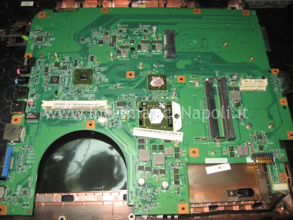 logic board scheda madre scheda video Acer aspire 8530 8530g MS2249