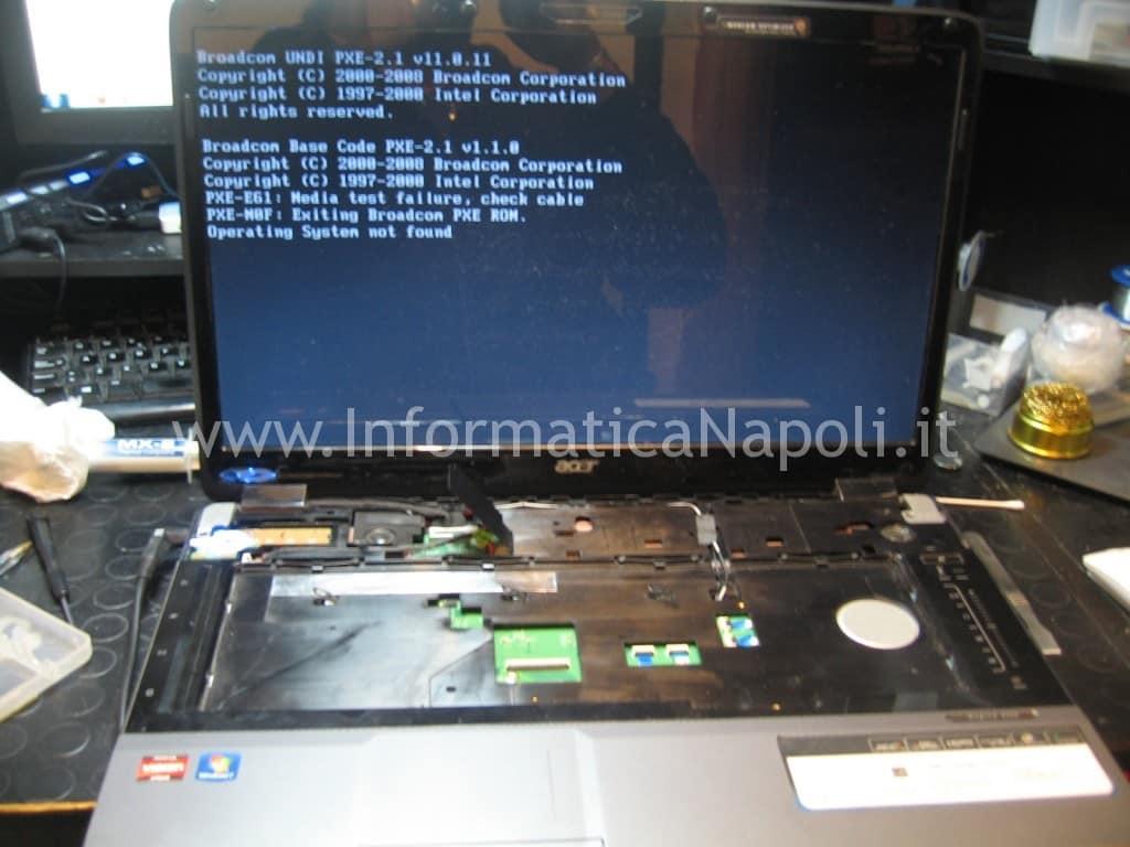Acer aspire 8530 8530g MS2249 riparato funzionante