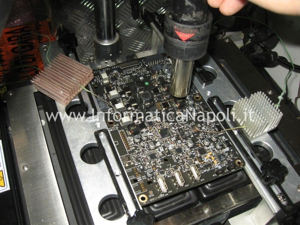 "rework reflow scheda logica Apple Cinema Display A1267 24"""