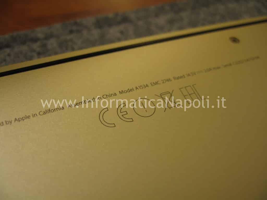 MacBook A1534 EMC 2746