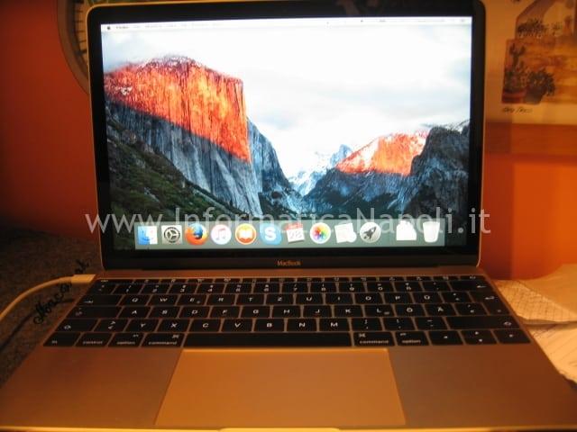 Migrazione nuovo MacBook siglato A1534 EMC 2746