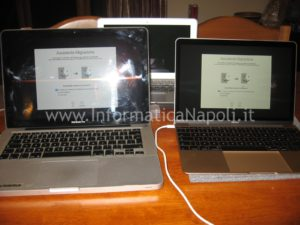 come migrare dati account A1278 MacBook A1534 EMC 2746