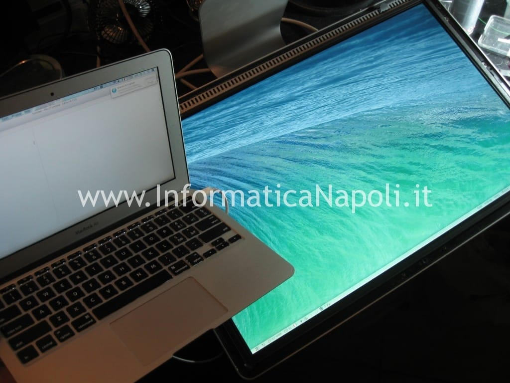 display Apple Cinema A1267 24 pollici riparato