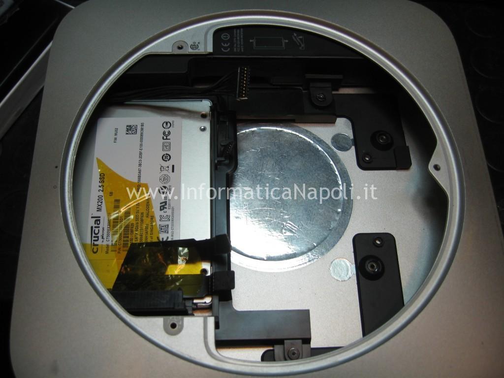 SSD installato nell' apple mac mini A1347