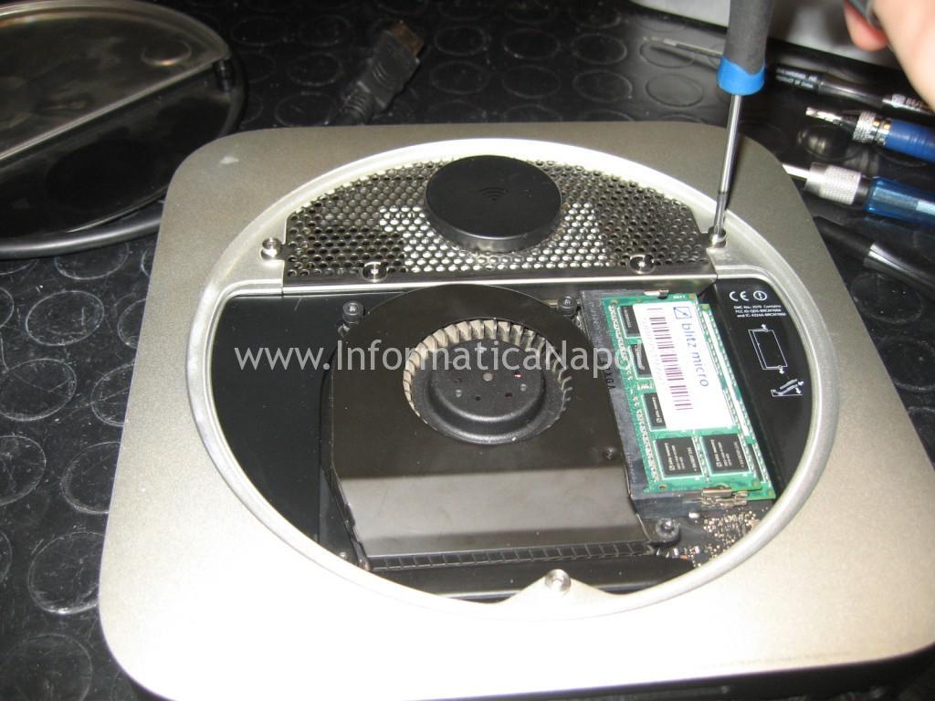 Riparare ed installare SSD su Apple MacMini A1347