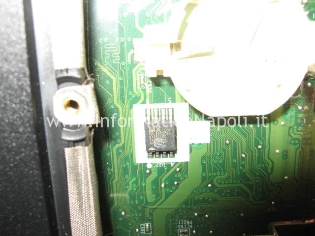 Come fare a ripristinare un BIOS su un HP DV5 macronix mx25l800