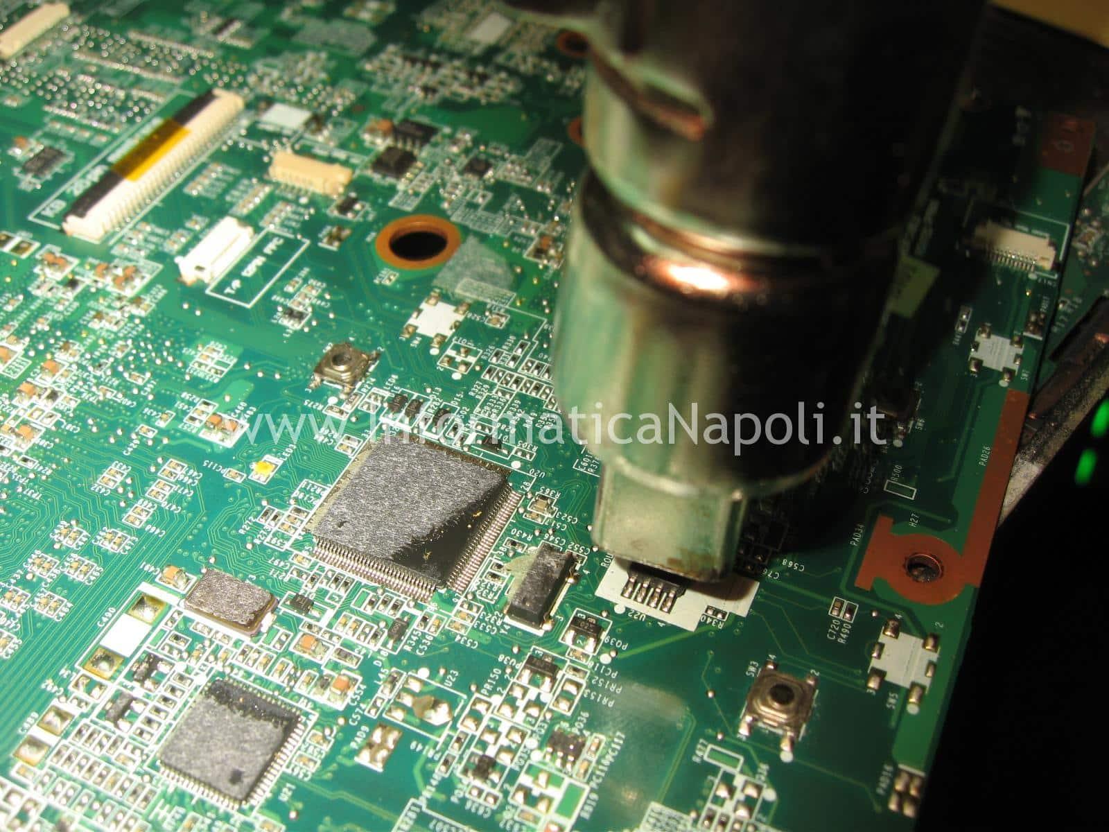 recupero recovery programmazione bios programmare bios Macronix MX25L644 ASUS A55V K55VD