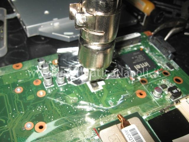 dissaldare eeprom BIOS HP DV5 Macronix MX25L800