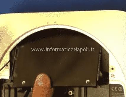 sostituire hard disk SSD Apple Mac mini A1347