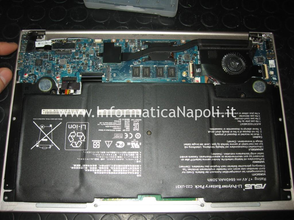 ripristino bios Asus zenbook UX31E 13
