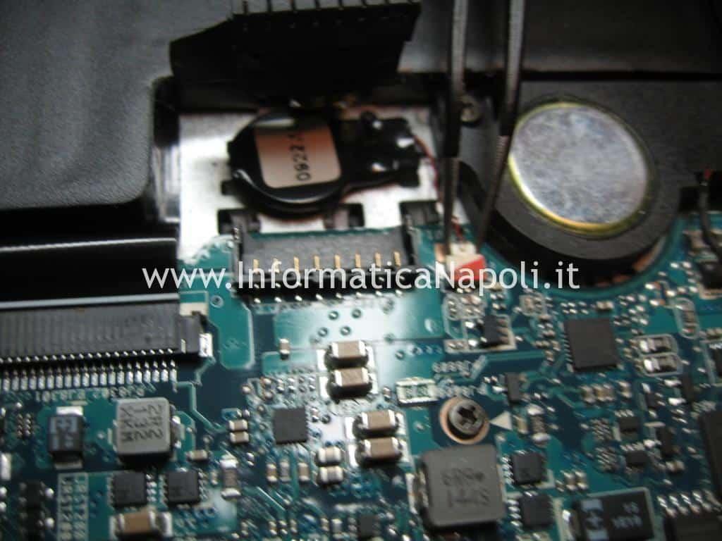 Problema Asus zenbook UX31E batteria cmos bios Winbond 25q32bvsig