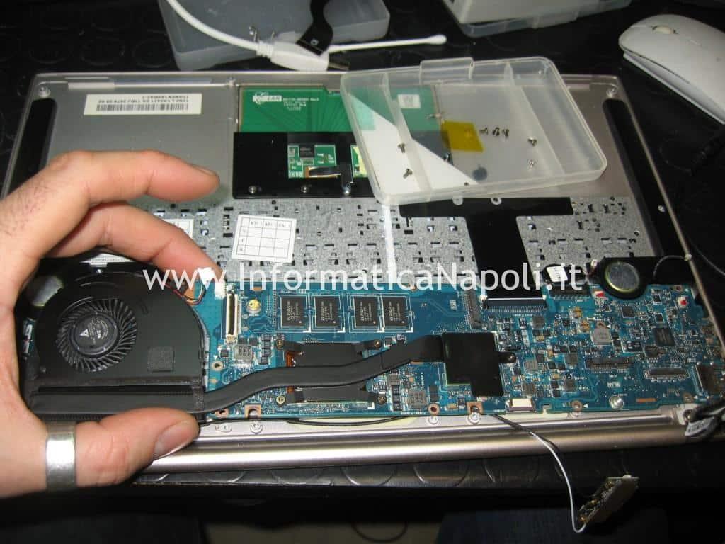 riparare scheda madre Asus UX31E Zenbook