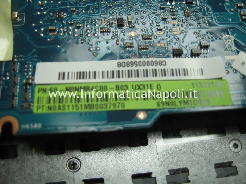 scheda madre 60-N8NMB4C00-B03 Asus UX31